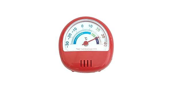 Termómetro clásico para frigorífico y congelador, medidor de ...