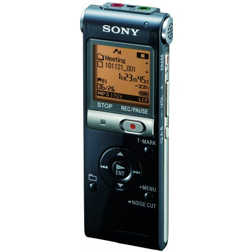 Sony ICD-UX512 2GB Expandable Digital Recorder with MP3 Capa