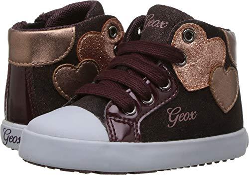 Geox Kids Baby Girl's Kilwi Girl 35 (Toddler) Dark Burgundy 20 M EU ()