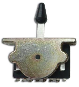 Interruptor de 5 modos para Fender Stratocaster y Strat Telecaster, punta de color negro: Amazon.es: Instrumentos musicales