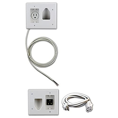 Hide Cords Wall Mounted TV Amazoncom