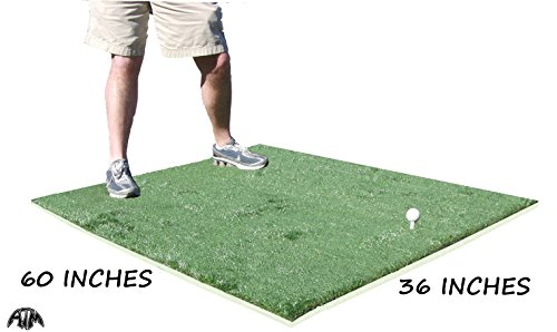 Practice Range Driving - 3 Feet x 5 Feet Golf Chipping Driving Range Commercial Fairway Practice Mat