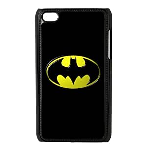 Batman Logo The Dark Knight Durable Hard Plastic Case Cover for Apple iPod Touch 4 Personalized Unique Custom Design Fashion DIY
