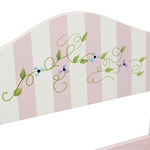 Teamson Design Corp Fantasy Fields - Bouquet Thematic Kids Wooden Rocking Chair Imagination Inspiring Hand Crafted & Hand Painted Details Non-Toxic, Lead Free Water-based Paint by Teamson Design Corp (Image #4)