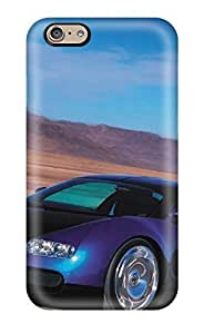 Anti-scratch And Shatterproof Bugattiveyronexoticcar Phone Case For Iphone 6/ High Quality Tpu Case