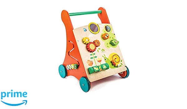Amazon.com: Tender Leaf Toys - Wooden Baby Activity Walker ...