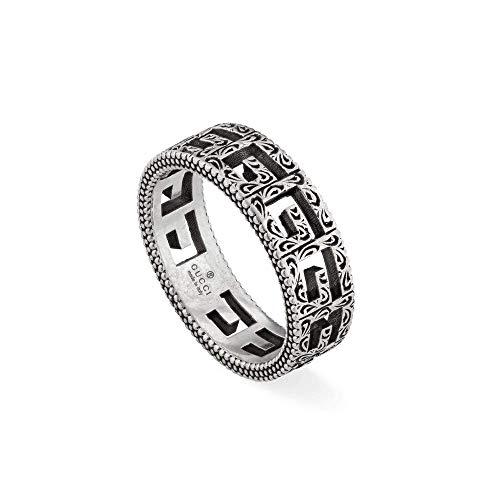Gucci G Cube Silver Ring 7 1/2(USA)-O 1/2(UK)