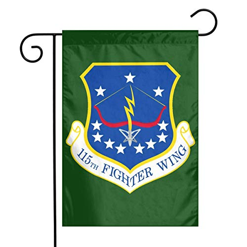 adlaide 115th Fighter Wing Garden Flag House Banner for Party Yard Home Outdoor Decor ()