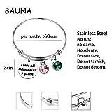 BAUNA Sorority Bracelet I Love All Things Pink and