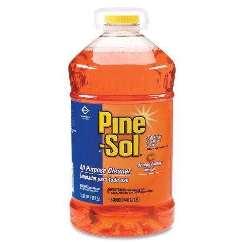Pine-Sol All Purpose Cleaner - Liquid Solution - 144 fl oz (4.5 quart) - Orange Scent - Orange