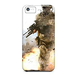 Protective Cases With Fashion Design For Iphone 5c (call Of Duty)