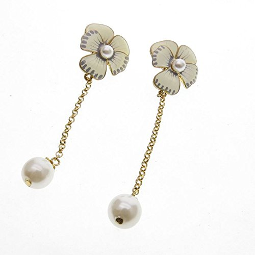 long-dripping-glaze-flower-pearl-stud-earrings-for-women-girls-by-variation-now