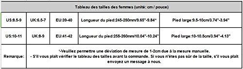 Femmes TM Coton Chaud Intrarieur Pantoufles Hiver Femmes Chaud Noir Derapant Anti Coloré q4Tw5nTA