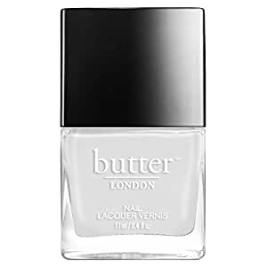 butter LONDON Nail Lacquer, White & Pink Shades, Cotton Buds