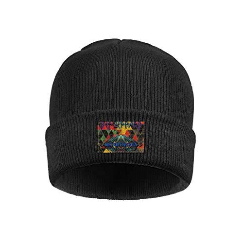 Ina Fers Fine Knit Caps Def-Best-Kept-Secrets-Leppard- Winter Soft Thick Warm Outdoor Knitting Beanie Skull Hats for Unisex