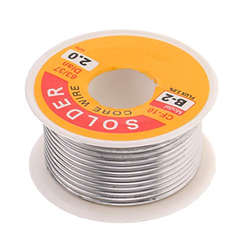 Flameer 63-37 Tin Lead Rosin Core Solder Wire For Electrical Soldering and DIY 0.019-0.078