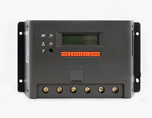 GOWE 30 A, 12 V/24 V/36 V 48 V EP-PWM-Solar Laderegler (mit LCD-display
