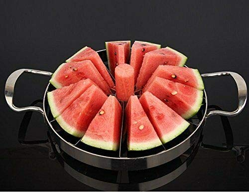 Jumbor 12inch 304 Stainless Steel Watermelon Cutter Cantaloupe Melon Slicer Divider by NB.ROSE