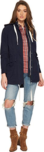Lucky Brand Women's Parka Jacket Navy Blazer X-Large by Lucky Brand