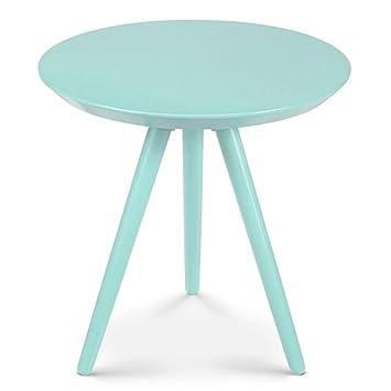 Axdwfd Table Basse en Bouleau, Petite Table Ronde pour ...