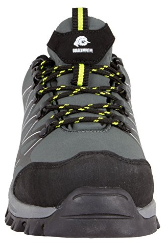 Guggen Stivali T003 Shoes Outdoor Escursionismo Walk grigio Uomo Mountain impermeabile SPrFZS
