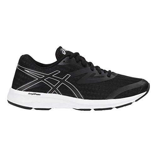 Pour Chaussures Asics Amplica blanc Femme Noir 6q6Ywzx