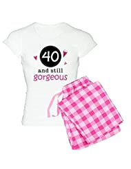 CafePress Women's Light Pajamas - 40th Birthday Gorgeous Women's Light Pajamas