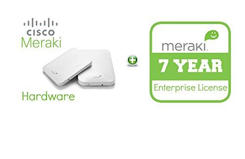 Cisco Meraki MR18 Cloud-Mng'd Wless AP + 7yr of Enterprise License and Support