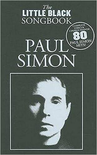 Amazon Paul Simon The Little Black Songbook Lyricschord