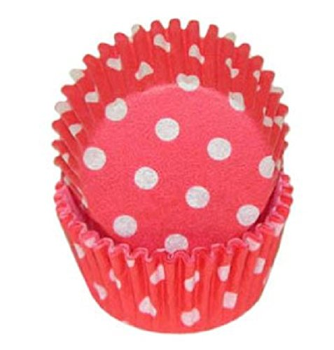 mini baking cups dots - 2