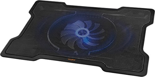 Avyzar Ultra-Slim Laptop Cooling Pad with quiet 160mm 1000RPM Fan (Laptop Desk Fan compare prices)