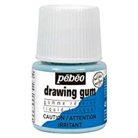 Pebeo Drawing Gum Bottle ,45ml (033000CAN)