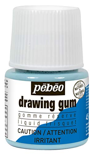 (Pebeo Drawing Gum Bottle ,45ml (033000CAN))
