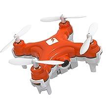 SKEYE Nano Drone with Camera - Remote Controlled - Mini Quadcopter - One Year Warranty