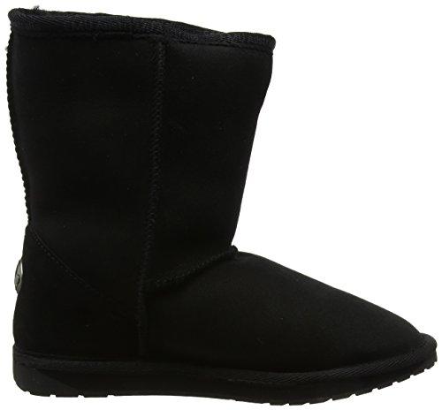 Emu Dames Platina Stinger Lo Korte Schacht Laarzen Zwart (black)