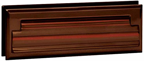 Salsbury Industries 4035A Mail Slot, Standard/Letter Size, Antique Finish