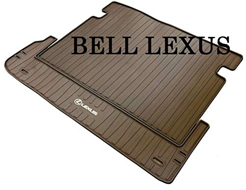 LEXUS OEM FACTORY ALL WEATHER REAR CARGO MAT LINER 2010-2019 GX460 BROWN PT908-60102-40