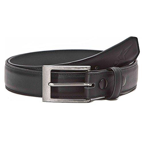 Alpinestars Belt - Alpinestars Mens Baldwin Leather Belt Large Black