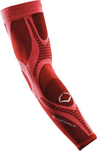 EvoShield Active DNA Compression Arm Sleeve, Red, Medium/Large