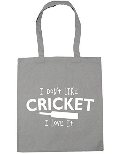 Light it I Cricket litres Tote HippoWarehouse Shopping 10 Don't x38cm I Beach Gym Like Bag Grey 42cm love YwqnxUafx