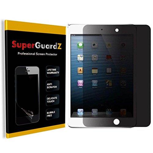 SuperGuardZ For IPAD AIR 2/Air 1 Privacy Anti-Spy Screen Protector, Anti-Glare, Anti-Scratch, Anti-Bubble [Lifetime Replacement] + LED Stylus Pen by SuperGuardZ