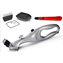Grill Daddy Grill Brush Original Steam BBQ Grill Brush Cleaner Combo for a Spotless Clean Grill and Healthier Tastier Barbeque. Cleans Gas or Charcoal Grills