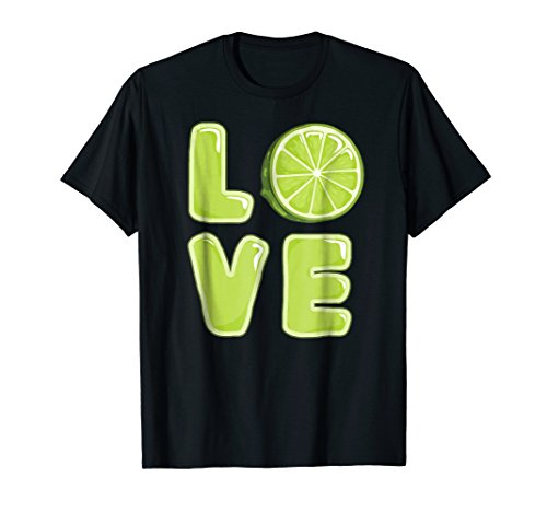 Lime Love Refresh Lemonade Gelatinous Green Lemon T-Shirt