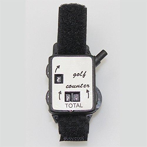 ShiningLove Golf Score Counter Portable Golf Score Keeper Counter Watch Waist Band Numbers Clicker