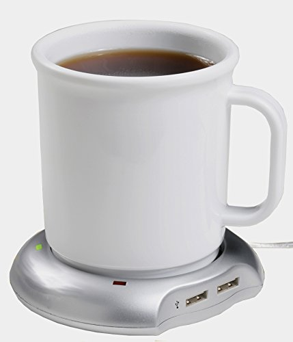 USB Mug Warmer Keep Coffee And Tea Warm With Wired 4-Port ...