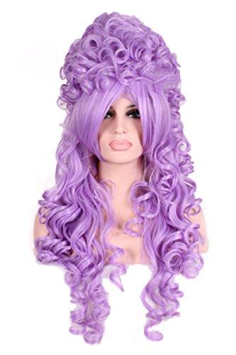 Lavender Marie Antoinette Wig (Nuoqi Women California Marie Antoinette Purple Wig Cosplay Costume Wigs)