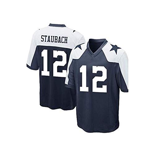 Men's/Women's/Youth_Dallas_#12_Roger_Staubach_Navy_Game_Jersey