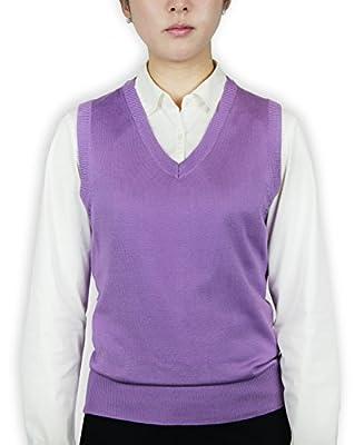 Blue Ocean Ladies Classic Sweater Vest