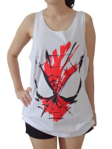 spider-man+tank+tops Products : TheLegendTshirt Women's Spiderman Superhero Tank Tops