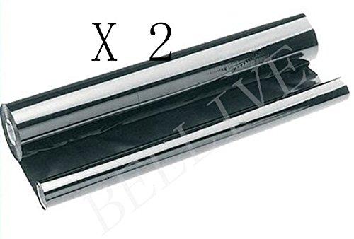 2rollos TTR cinta/Protector Compatible Para SHARP ux-9cr fo-d60, fo-p510, fo-a560, fo-p600, fo-p610, fo-p630, fo-a650, fo-a660, Sharp ux-s10, ux-d50, ux-d60it, ux-ps60, ux-p110, ux-p400, ux-p410, ux-a450, ux-a460, ux-a470, ux-p500, ux-510Sharp nx-d60, nx